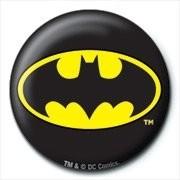DC COMICS - batman logo button