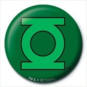 DC Comics - Green Lantern Logo button