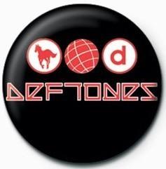 DEFTONES - LOGO button