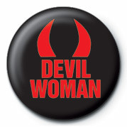 DEVIL WOMAN button