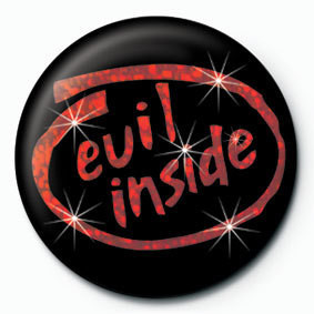 EVIL INSIDE button