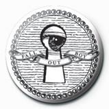 FALL OUT BOY - Keyhole button
