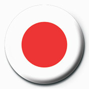 Flag - Japan button