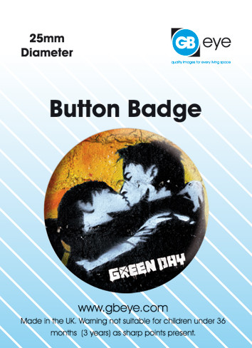 GREEN DAY - album button