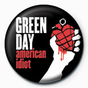 Green Day - American Idiot button