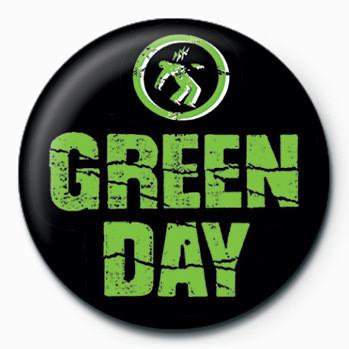 Green Day (Logo) button