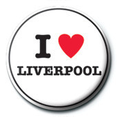 I Love Liverpool button