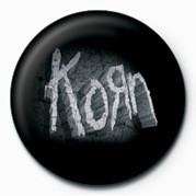 KORN - STONE LOGO button