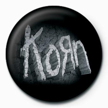 Korn - (Stone Logo) button