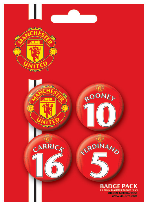 Button MANCH. UNITED - Players 2