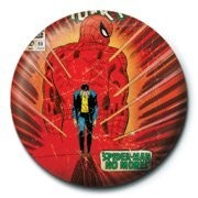MARVEL - spiderman no more button