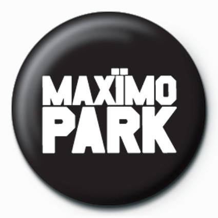 Maximo Park-Logo button