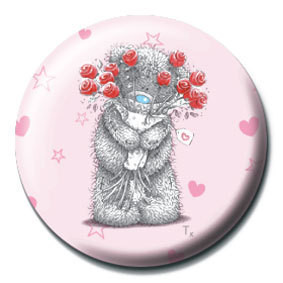 ME TO YOU - flores button