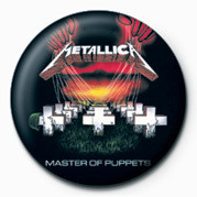 METALLICA - MASTER OF PUPP button