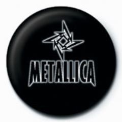 METALLICA - small star GB button