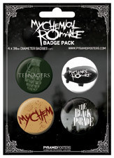 MY CHEMICAL ROMANCE button
