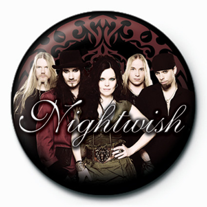 Nightwish-Band button