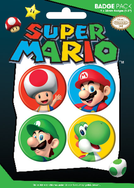 NINTENDO - pack 2 button