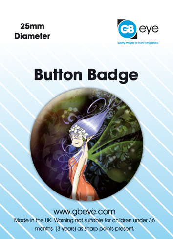 ODM GLITTER FAIRY button