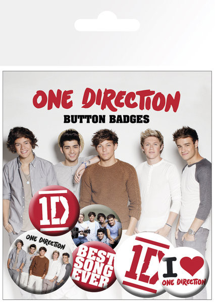 ONE DIRECTION - best song button