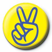 PEACE MAN button