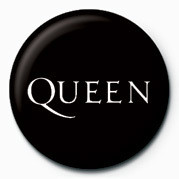 QUEEN - LOGO button