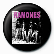 RAMONES (B&W) button