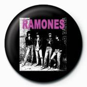 RAMONES (B&W) button