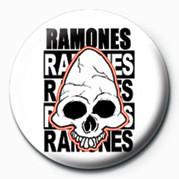 RAMONES (SKULL) button