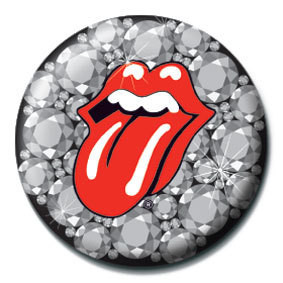 ROLLING STONES - Bling button
