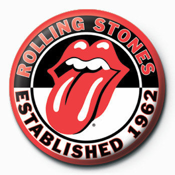 Rolling Stones button