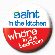 SAINT IN THE KITCHEN& button