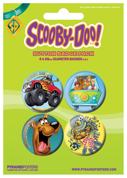 SCOOBY DOO - Boy button