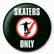 SKATEBOARDING - SKATERS ON button