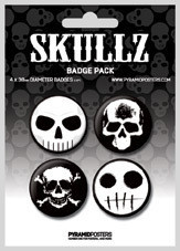 Button SKULLZ