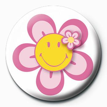 Smiley (Flower) button