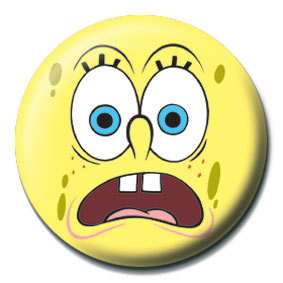 SPONGEBOB - scared button