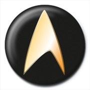 STAR TREK - black button