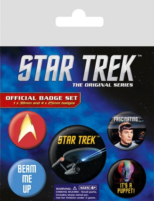 Button  Star Trek