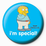 THE SIMPSONS - ralph i am special! button