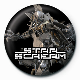 TRANSFORMERS - star scream button