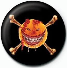 WILDHEARTS (SMILEY) button