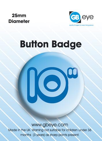 Button 10 Inch