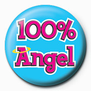 Button 100% ANGEL