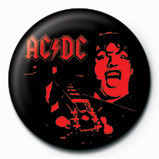 AC/DC - Red Angus Button