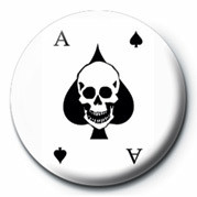 Button  ACE OF SPADES