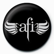 Button  AFI - WINGS LOGO
