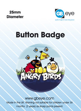 Button ANGRY BIRDS