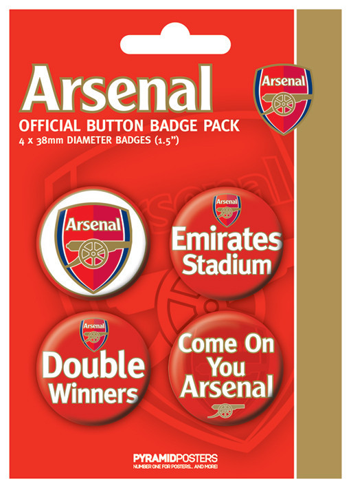 Button ARSENAL FC - d. winner