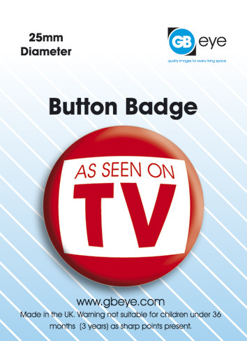 Button As seen on TV